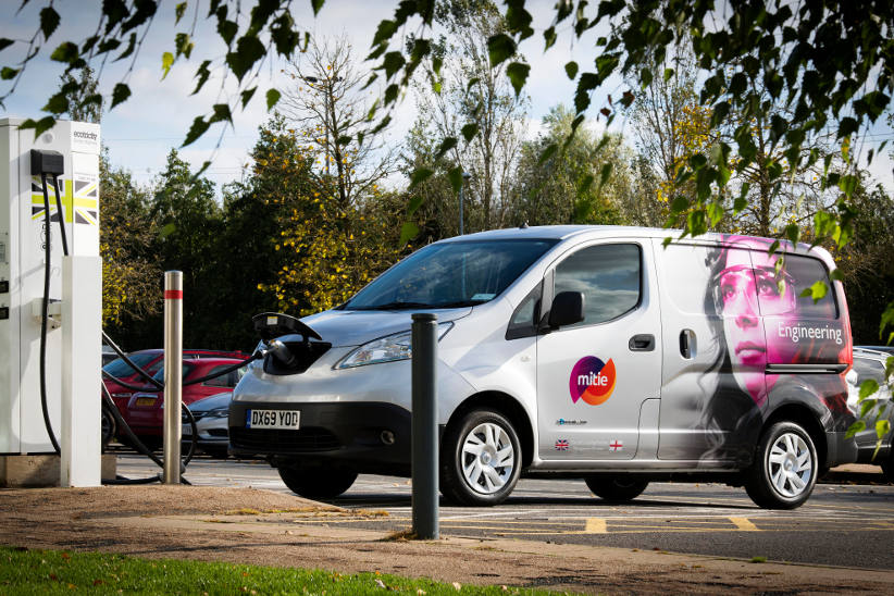 UK facilities management company meets EV fleet target three months early