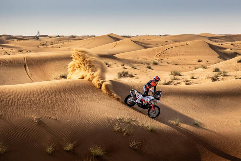 Australian Daniel Sanders achieves fourth place on debut for the 2021 Dakar Rally