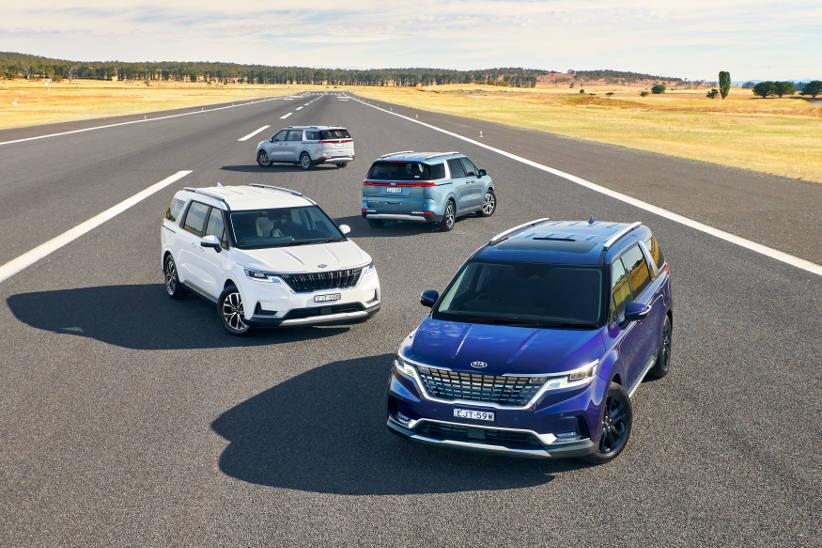 Fourth generation Kia Carnival range for fleets