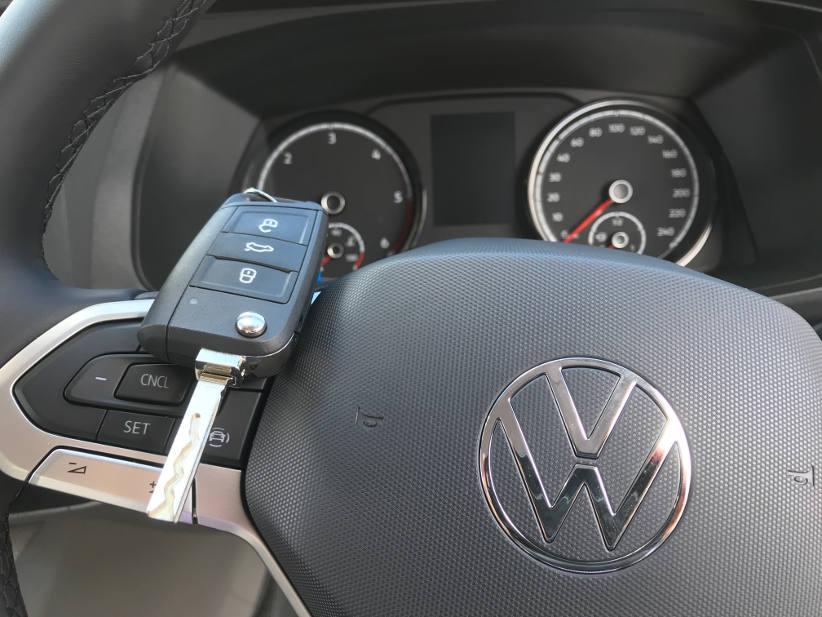Key VW transporter T6 van volkswagen