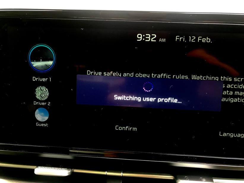 Novated lease driver profiles in the Kia carnvial
