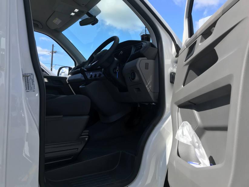 Tissue box storage in the VW tranporter van T6