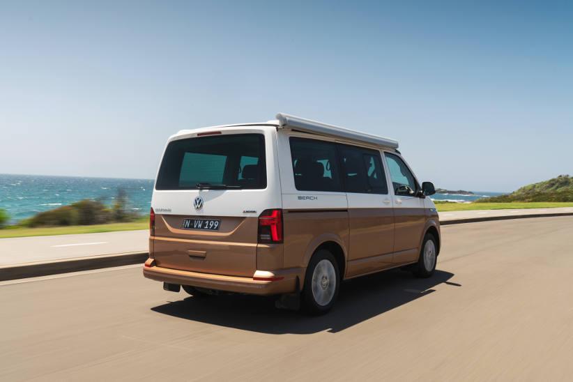 VW T61 California transporter kombi camper van