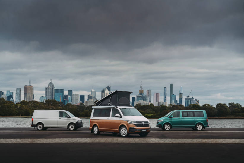 VW T61 Transporter range in one place