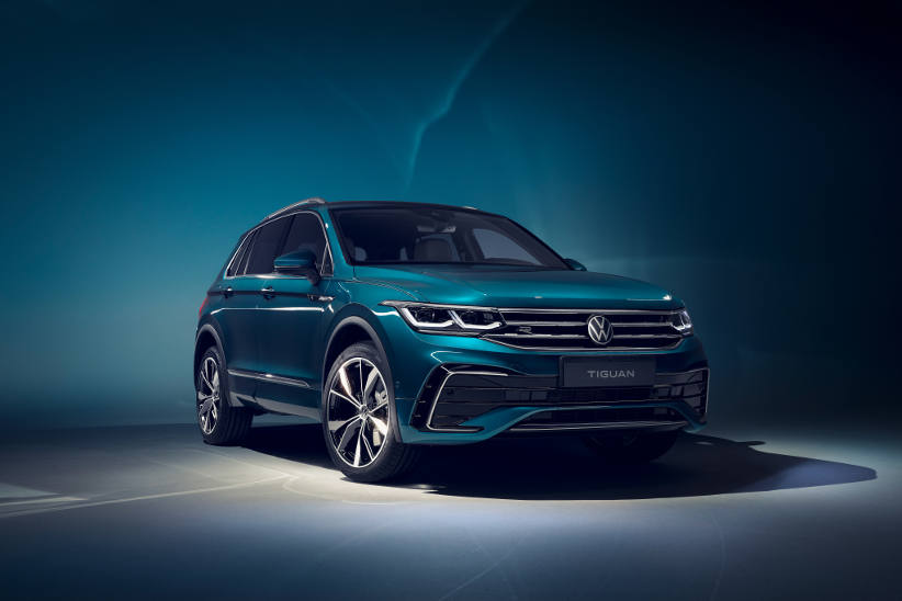 Upgraded VW Tiguan gets latest Golf technology