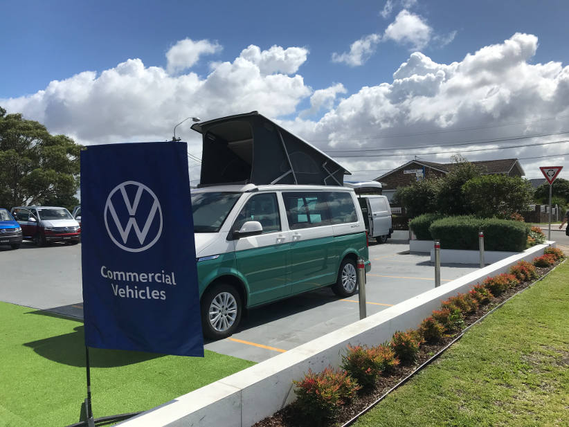 Images of the new VW Transporter T6.1