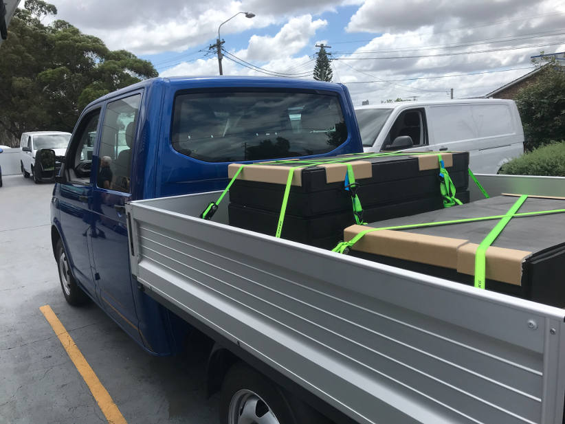 Volkswagen transporter T6 cab chassis