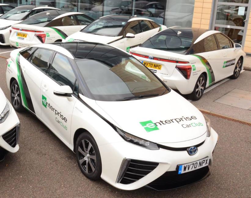 Toyota Mirai hydrogen cars join Enterprise rental fleet