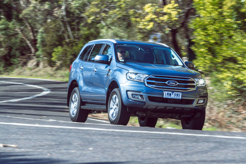 Novated Top 10 2020 FORD EVEREST