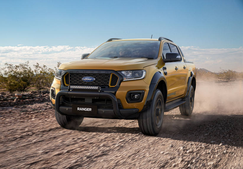 Novated Top 10 2020 FORD RANGER WILDTRACK