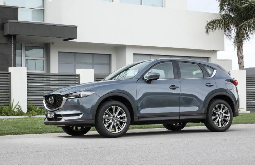 Novated Top 10 2020 MAZDA CX-5 AWD