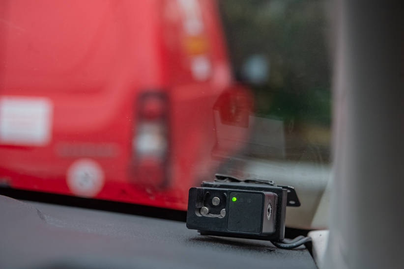 Royal Mail telematics black box for telemetry