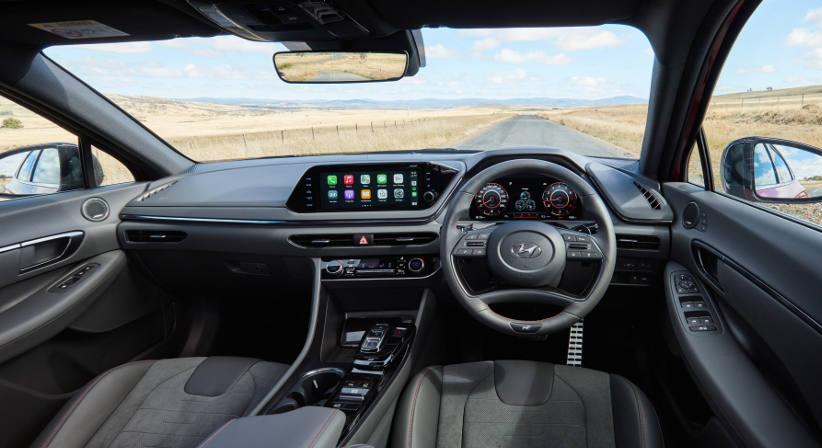 Sonata-N-Line-Hyundai-novated-lease-interior