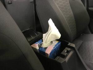 Toyota Corolla Ascent sport tissue box