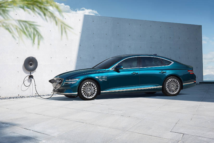 Genesis launches its first electric vehicles