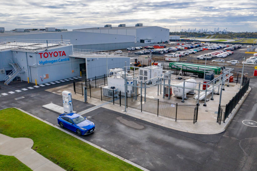 Toyota builds hydrogen refuelling station in Melbourne